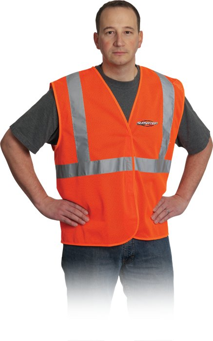 Class 2 Mesh Fabric Vest, 1
