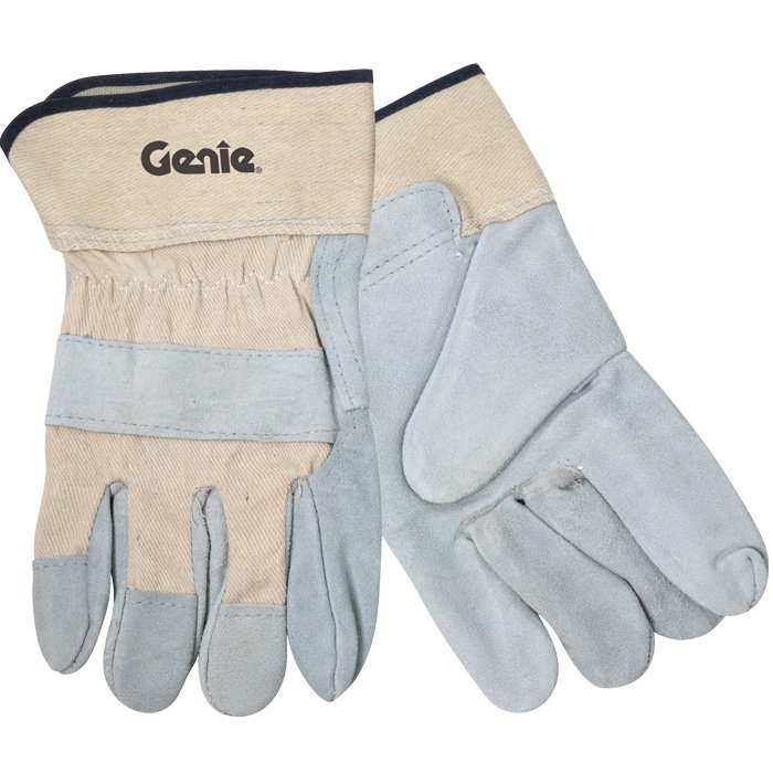 Split Leather Glove w/SafetyCuffs, 1