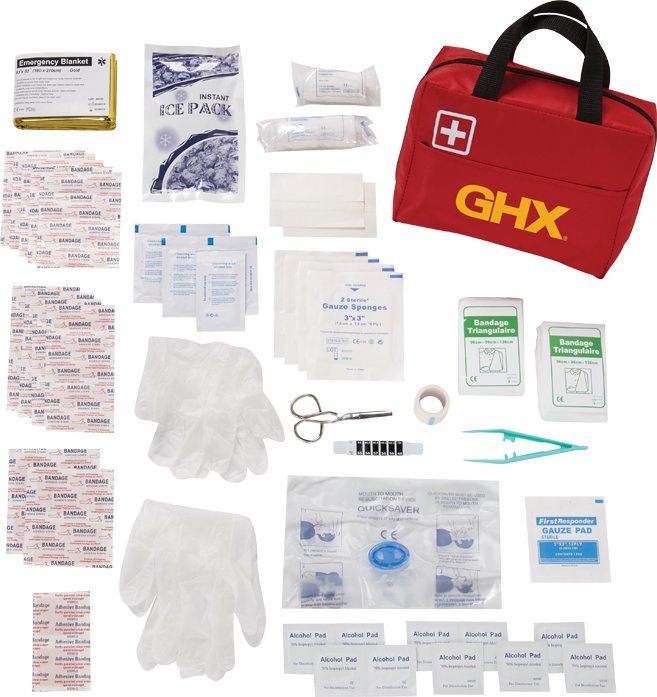 83 Pc Sport First Aid Kit, 3.5