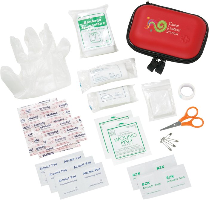 34 Pc First Aid Kit, 4.75