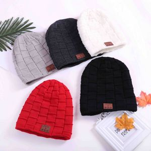Custom Bluetooth Beanie Lined Brick by Brick Design