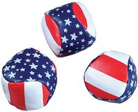 "Patriotic Kickball w/ Pellet Fill (2"" Diameter)"