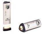 Custom Digital Alarm Clock W/ Flashlight & Night Light (5 1/4
