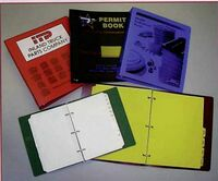 ".023 Gauge 8-1/2""x5-1/2"" Poly Ring Binder"
