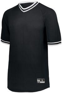 Custom Youth Retro V-Neck Baseball Jersey