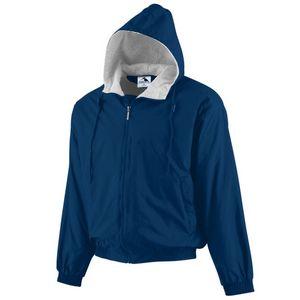 Custom Youth Hooded Taffeta Jacket/Fleece Lined