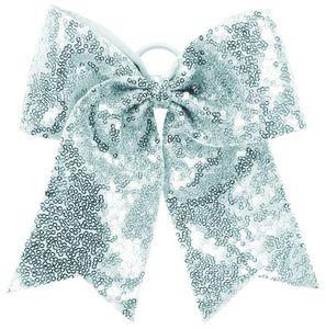 Custom Sequin Cheer Hair Bow