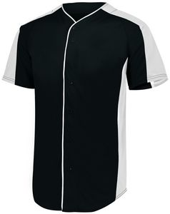Custom Full-Button Baseball Jersey