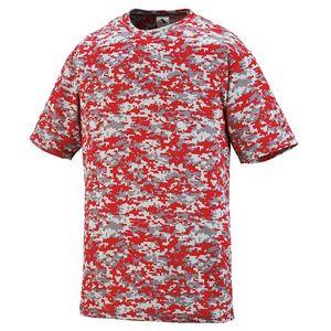 Custom Youth Digi Camo Wicking T-Shirt