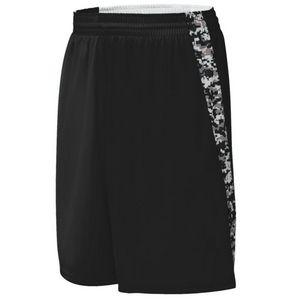 Custom Youth Hook Shot Reversible Shorts