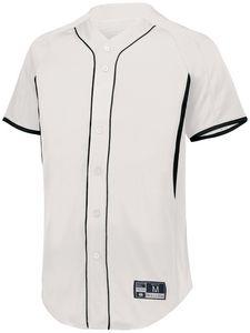 Custom Youth Game7 Full-Button Baseball Jersey