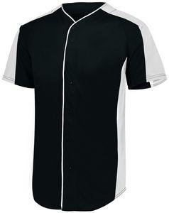 Custom Youth Full-Button Baseball Jersey