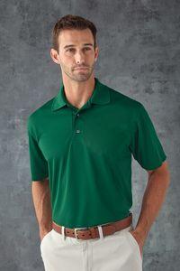 Paragon Men's Saratoga Solid Performance Mesh Polo Shirt