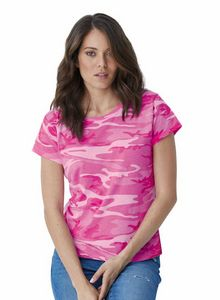 Custom Code Five Ladies' Camo Tee