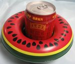 Inflatable Water Melon Drink Holder