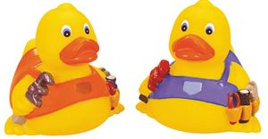 Custom Printed Plumber Rubber Ducks