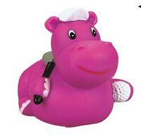 Rubber Golfer Hippo©