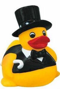 Custom Imprinted Wedding Theme Rubber Ducks