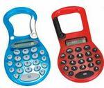 Plastic Calculator w/ Carabiner