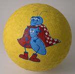 2-Ply Rubber Playground Ball (6