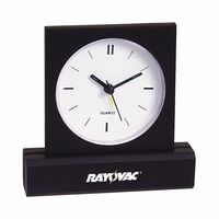 Rectangular-Base Desk Clock w/ Alarm