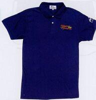 Basic Jersey Knit Polo Shirt