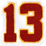 Chenille Letterman Jacket Connected Numbering