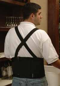Samson Back Support Brace with Suspenders (Small 28-32)