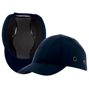 Custom 913 Ball Cap Bump w/ Cotton Covering & ABS Shell - Dark Blue