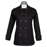 Fame® Women's Long Sleeve with Side Vents Chef Coat