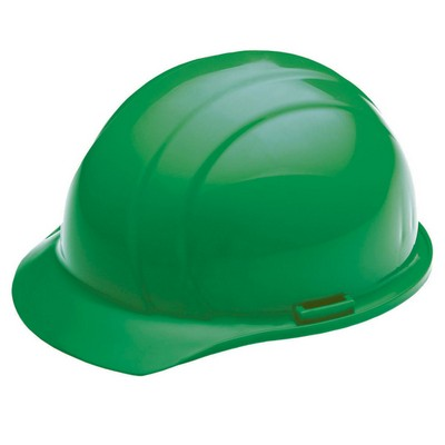 Liberty Cap Hard Hat with Four-Point Mega Ratchet Suspension - Green