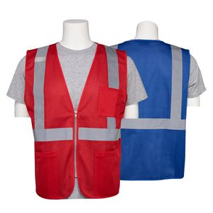 Aware Wear Non ANSI Reflective Safety Mesh Vest w/ Pockets