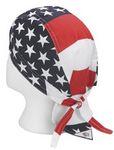 Signature American Flag Doo-Rag Bandanna Cap