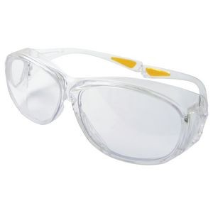 Over The Glasses Eyewear w/Anti Fog Lens, Clear or Gray Lens