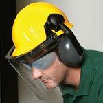Custom E14 Face Shield/ Ear Muff Kit