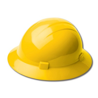 Americana Heat Slide Lock Safety Helmet - Yellow