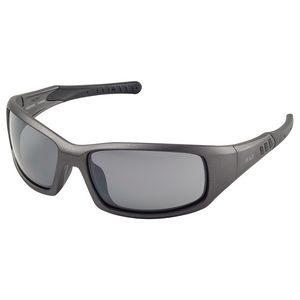 Free Ride Premium Metallic Frame/Gray Flash Mirror Lens