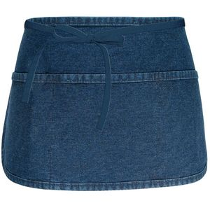 Custom Fame 3 Pocket Waist Apron with Rounded Bottom