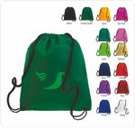Custom Q-Tees Drawstring Back Pack