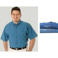 Paradise Point Short Sleeve Denim Shirt
