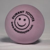 purple or Lavender Round Stress Ball