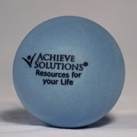 Blue Round Stress Ball