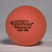 Red Round Stress Ball