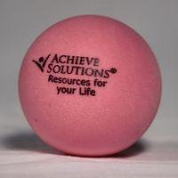 Pink Round Stress Ball