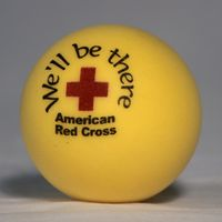 Yellow Round Stress Ball