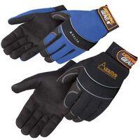 Premium Simulated Leather Mechanic Glove