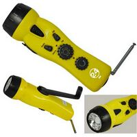 4-in-1 Emergency Dynamo Radio/Flashlight