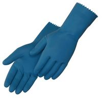 Unsupported Unlined Glove W/Blue Latex
