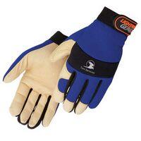 Tan Grain Pigskin Full Palm Mechanic Gloves