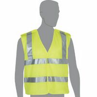 Class 2 Compliant 5 Point Breakaway Mesh Safety Vest